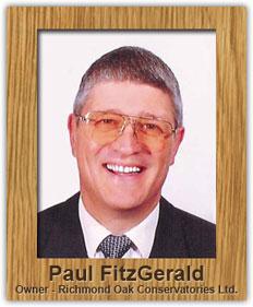 Paul FitzGerald - Owner, Richmond Oak Conservatories