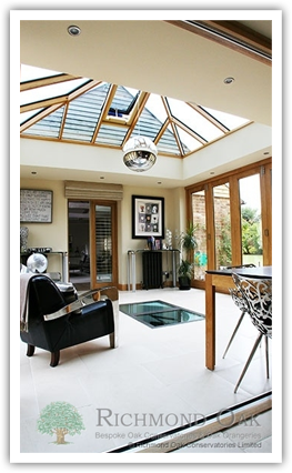 Bespoke Orangeries from Richmond Oak Conservatories